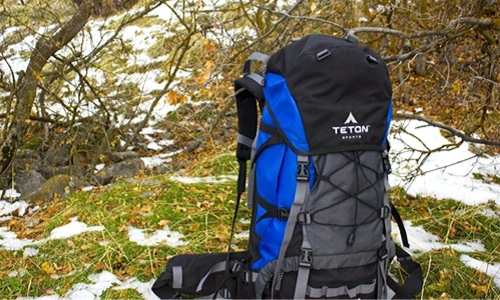 how to carry a tent in internal frame backpack