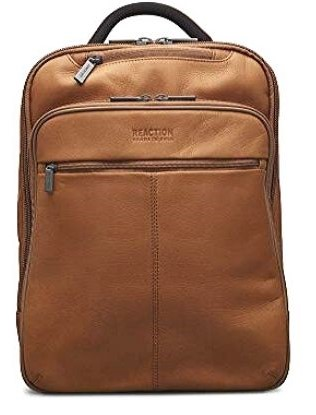 Leather Laptop Backpack Women's