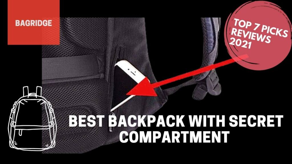 backpack with secret compartment