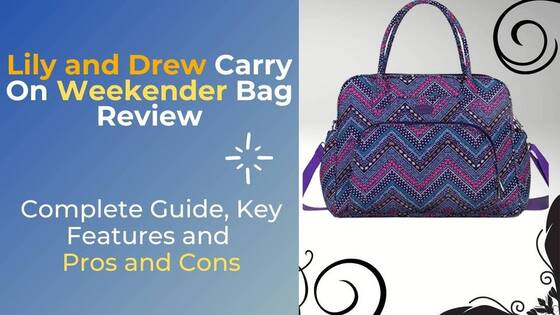 Lily and Drew Carry On Weekender Bag Review (2)