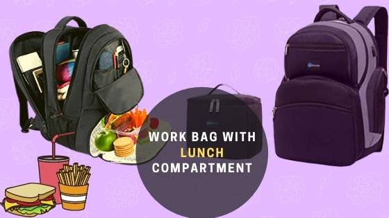 Men's Work Bag with Lunch Compartment