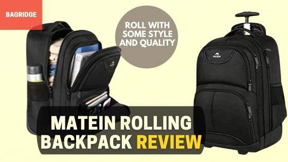 matein rolling backpack Review